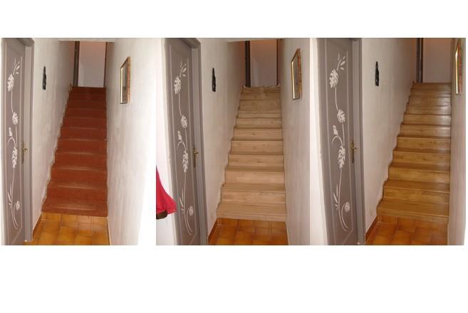 Habillage Escalier Bois Avec Moquette : Merci Isabelle pour votre t?moignage ! Bon maintenant, il faut finir