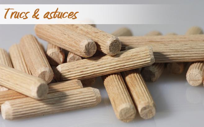 Trucs astuces de robert 44 fabriquer des tourillons for Fabriquer un miroir en bois