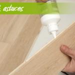 coller des lames de bois rainurés