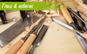 Ranger les outils de menuiserie