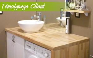 Plan pour poser vasque salle de bain plan poser vasque salle bain sur enper - Comment installer une vasque sur un plan de travail ...