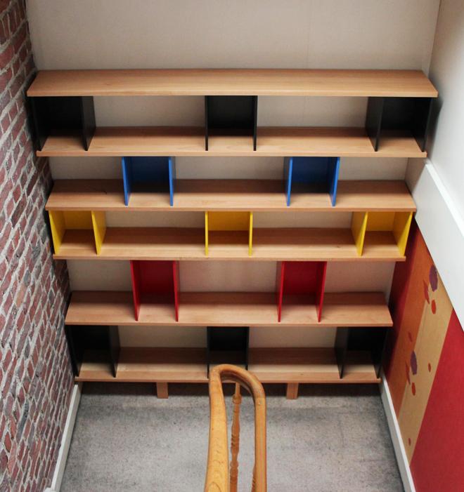 Bibliothèque en chêne sur mesure
