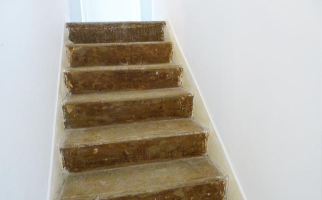 R nover un escalier en b ton le blog du bois for Peindre escalier beton