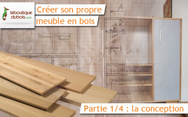 cr er son propre meuble en bois avec 1 4 le blog du bois. Black Bedroom Furniture Sets. Home Design Ideas