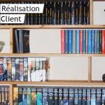 Faire sa propre bibliotheque en bois