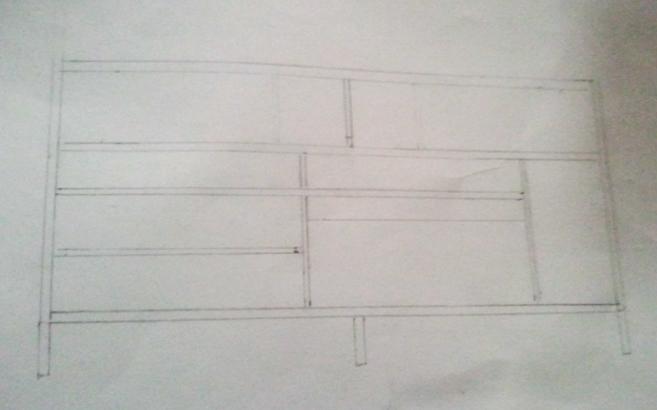 plan réalisation meuble tv bois