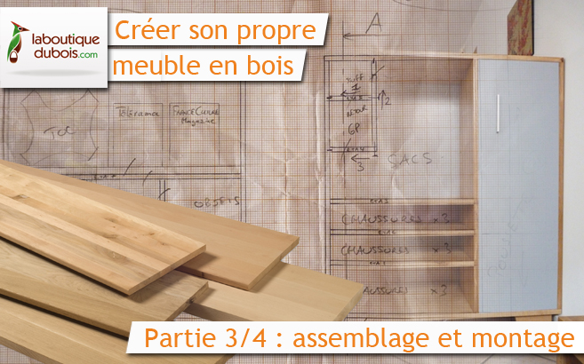 Cr er son propre meuble en bois avec for Assemblage meuble