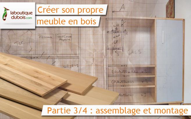 Cr er son propre meuble en bois avec for Assemblage de meuble en bois