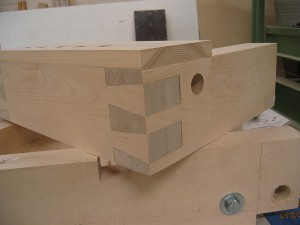finished dovetail
