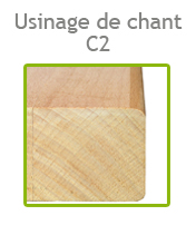 usinage de chant C2