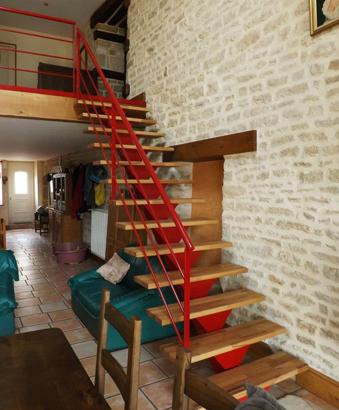 réalisation escalier bois sur mesure