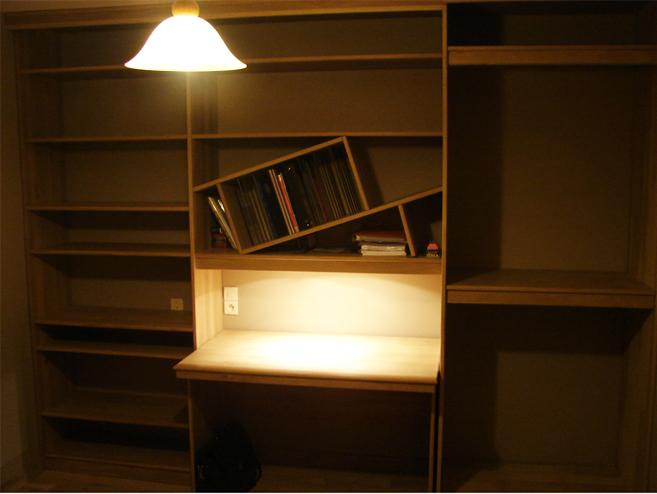 bureau dressing sur mesure pour coll gien le blog du bois. Black Bedroom Furniture Sets. Home Design Ideas