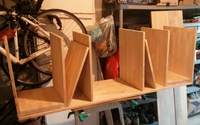 Fabriquer son meuble tv en bois le blog du bois - Construire son meuble ...