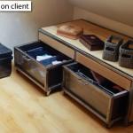 réalisation mobilier bois / métal sur mesure