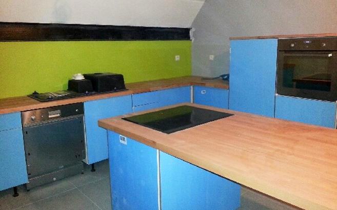 am nager sa cuisine ouverte sur mesure le blog du bois. Black Bedroom Furniture Sets. Home Design Ideas