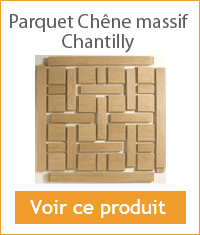 parquet chene massif Chantilly