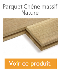 parquet chene massif a clouer nature