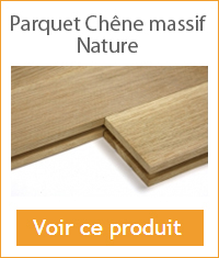 parquet chene massif a coller nature